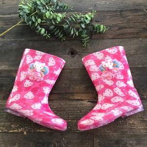 HELLO KITTY Rain boots - BRAND NEW